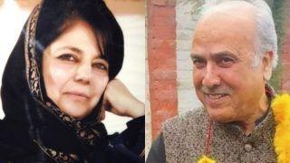 Mehbooba Mufti, Hasnain Masoodi File Nominations From Anantnag Seat