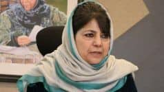 Only National Flag Will be Hoisted: BJP Demands Action Against Mehbooba Mufti Over 'Seditious' Remarks
