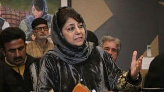 Mehbooba Mufti Slams Arun Jaitley For His 'Separatist Psyche' Comment