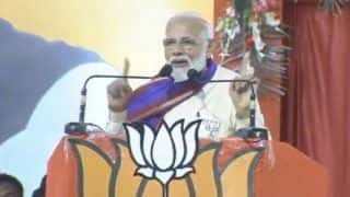 Congress Defaming Backward Community by Calling Them Thieves: Modi