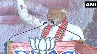 पीएम मोदी ने किया ममता बनर्जी पर वार, कहा- बंगाल की मिट्टी का रसगुल्ला, मेरे लिए प्रसाद जैसा
