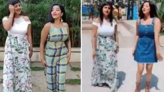 Bhojpuri Bombshell Monalisa Looks Super Hot as She Grooves to Tamil Song 'Kathanata Ottagattai' in Viral Video - Watch