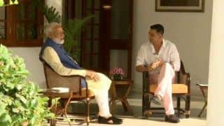 Failed Politician Looking For Opportunity in Bollywood: Cong on PM Talk With Akshay