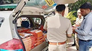 Row Erupts Over Security Personnel on Poll Duty Being Served 'Namo Foods'