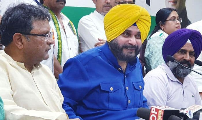Cricketer-turned-politician Navjot Singh Sidhu