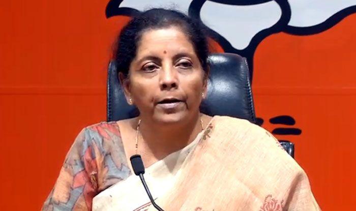 Union minister Nirmala Sitharaman