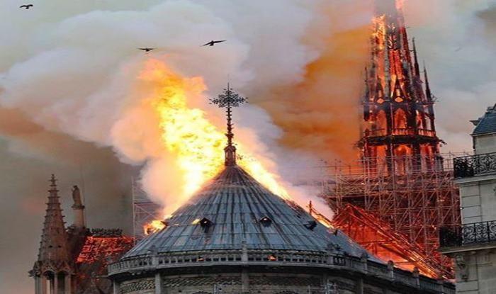 Notre Dame Cathedral_picture credits-Alex lacazette Instagram