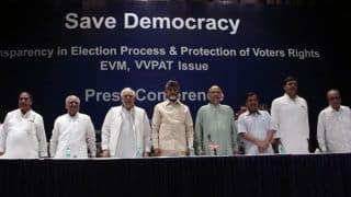 My Fight is For Protection of Democracy: Andhra CM Chandrababu Naidu