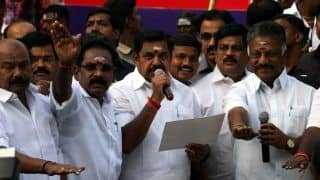 K Palaniswami Hits Out at MK Stalin For His Negative Campaign Targeting Him