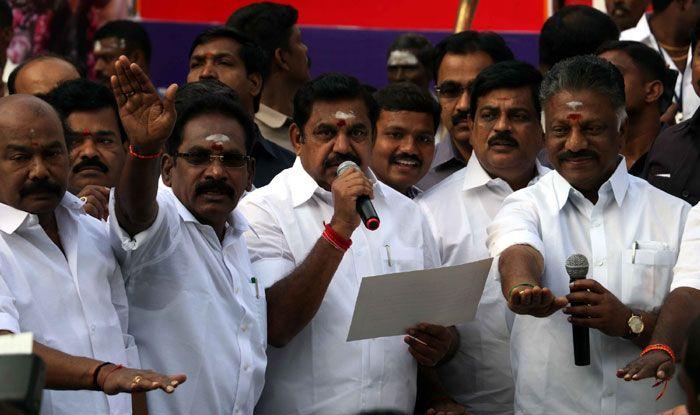 Tamil Nadu Chief Minister K Palaniswami