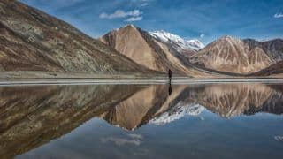 China Building Optical Fibre Network Along South of Pangong Lake in Ladakh: Report