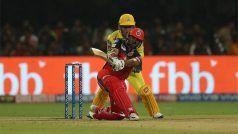 RCBvsCSK: रॉयल चैंजर्स बैंगलोर ने दिया 162 रन का लक्ष्य, पार्थिव पटेल ने जड़ा अर्धशतक