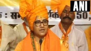 Plea Seeking to Bar me From Contesting Elections 'Politically Motivated', Says Pragya Thakur