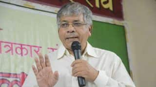 Dalit leader Prakash Ambedkar Accuses PM Modi of Being a Blackmailer