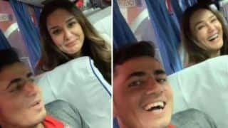 Preity Zinta Flaunts Her Language Skills Along With Afghan Cricketer Mujeeb Ur Rahman in This Hilarious Video - Watch