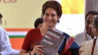 After Rahul Gandhi's Letter, Congress Sends Priyanka's Audio Messages on NYAY to 40 Lakh Voters