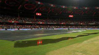 RCBvsRR : बारिश ने रोका मैच, जानें कब शुरू होगा मुकाबला
