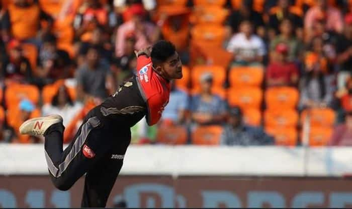 RCB's Prayas Ray Barman against SRH_picture credits- BCCI