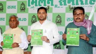 RJD Manifesto Promises Reservation For Weaker Sections in Private Sectors
