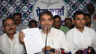 RLSP MP Floats Own Faction, Claims Founder Upendra Kushwaha Sold Tickets