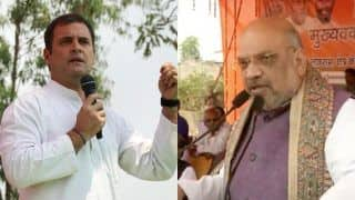 Rahul Gandhi, Amit Shah to Hold Rallies Ahead of Polls in Rajasthan