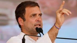 Rahul Accuses Modi of Committing Injustice With People in Last 5 Years