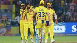 RRvsCSK: चेन्नई ने राजस्थान को 151 रन पर समेटा, जडेजा की शानदार गेंदबाजी
