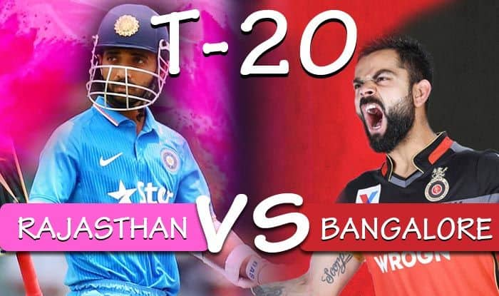 IPL 2019 Rajasthan Royals vs Royal Challengers Bangalore, Latest Cricket Score And Updates Match 14: Laggards RR, RCB Look to Get Off The Mark