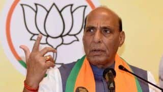 India Can Become Poverty-Free Only if it is Congress-Free: Rajnath Singh