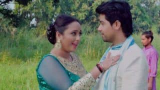 Bhojpuri Sizzler Rani Chatterjee's New Song 'Silver Bindiya' Featuring Her Sexy Romance With Rajinikanth Shukla Goes Viral - Watch