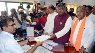 Ravi Shankar Prasad, Meira Kumar, 57 Others File Nominations in Bihar