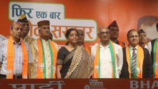 Seven Retired Officers of Armed Forces Join BJP in New Delhi