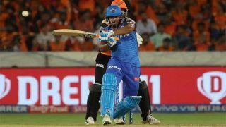 SRHvsDC: दिल्ली ने दिया 156 रन का लक्ष्य, मुनरो-पंत ने खेली अच्छी पारी