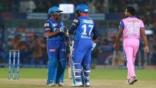 IPL Match 40 Report: Rishabh Pant, Shikhar Dhawan Fire Delhi Capitals to Six-Wicket Win over Rajasthan Royals, Claim Top Spot in Points Table