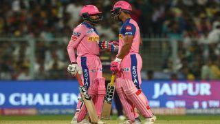 IPL 2019 Match Report: Riyan Parag, Varun Aaron Star as Rajasthan Royals Beat Kolkata Knight Riders by 3 Wickets to Keep Playoff Hopes Alive