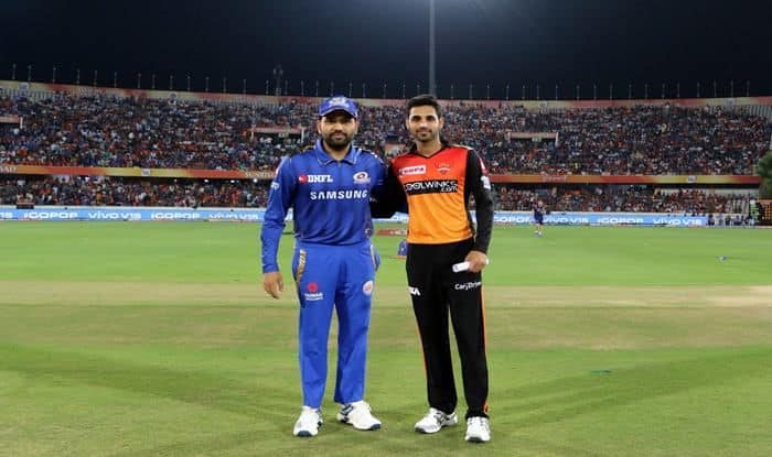 IPL 2019 Sunrisers Hyderabad vs Mumbai Indians, Latest Cricket Score And Updates Match 19: Rohit, Suryakumar Fall Cheaply as Hyderabad Dent Mumbai's Start