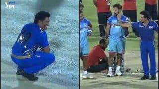 IPL 2019: Reason Why Sachin Tendulkar Came to The Pitch Ahead of Mumbai Indians' Clash Against Delhi Capitals | WATCH VIDEO