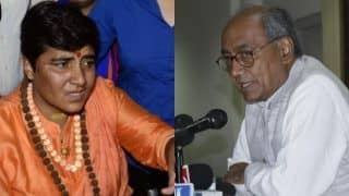 Digvijaya Singh Skips Voting in Rajgarh; Pragya Thakur Asks EC to Suspend His Candidature