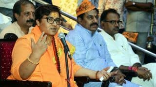 Election Commission Issues Notice to Sadhvi Pragya For Remark on Babri Masjid Demolition