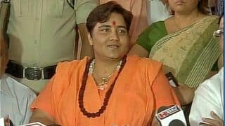 Sadhvi Pragya Goes on 'Maun Vrat' For 'Hurting Sentiments' With Godse Comment