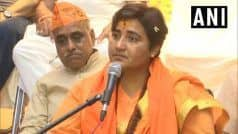 EC Finds Sadhvi   s Reply on Babri Masjid Remark 'Unsatisfactory', Files FIR