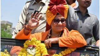 Pragya Thakur Declares Assets Worth Rs 4.5 Lakh, Says Lived Life of Sadhvi