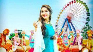 Haryanvi Hot Shot Sapna Choudhary Looks Her Sexiest Best in Blue Ethnic Wear as She Wishes Her Fans 'Happy Baisakhi'