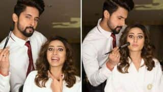 Television Actor Ravi Dubey Turns Make-up Artist For Wife Sargun Mehta And it's Too Adorable to Miss
