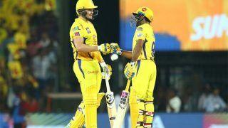 IPL 2019: चेन्नई ने हैदराबाद को 6 विकेट से हरा प्लेऑफ में बनाई जगह, वॉटसन शतक से चूके