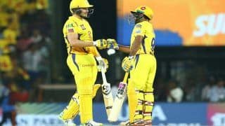 IPL 2019 Match 41 Report: Shane Watson's Blazing Knock Gets Chennai Super Kings Back on Winning Track, Beat Sunrisers Hyderabad by 6 Wickets at Chepauk to Claim Top Spot