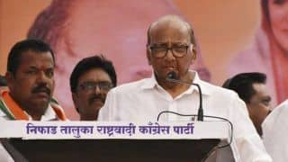 Half-Naked Man Gets on Stage as Sharad Pawar Addresses Rally in Nashik