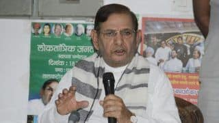 Sharad Yadav Accuses BJP of Creating an Atmosphere of Hatred in India