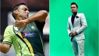 IPL 2019: Shoaib Akhtar Shows Disappointment Over His Ouster From Hindi Commentary Panel, Aakash Chopra Sympathises With Rawalpindi Express on Twitter | SEE POSTS