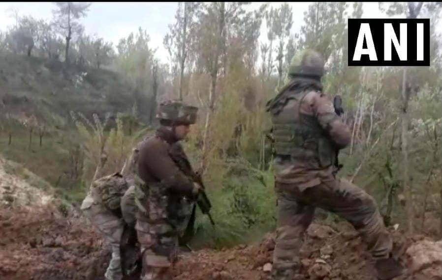 Jammu And Kashmir: Two Terrorists Killed in Encounter With Security Forces in Shopian